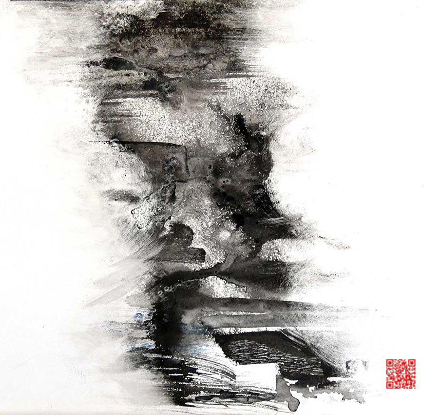 ShanShui_4 40x40 cm